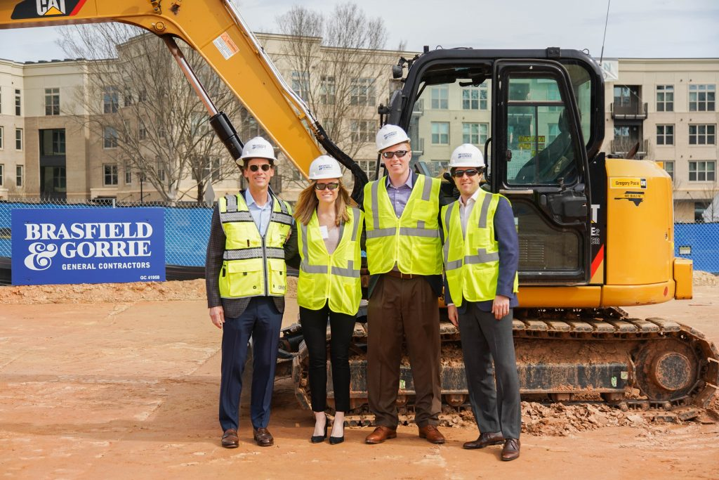 Grubb Ventures LLC. Grubb Ventures celebrates 3800 Glenwood groundbreaking